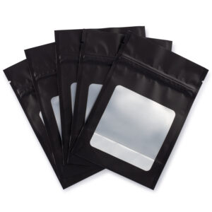 4x6 smart stash mylar bags with clear window